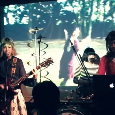 CuBerry – Live at 西院 ネガポジ